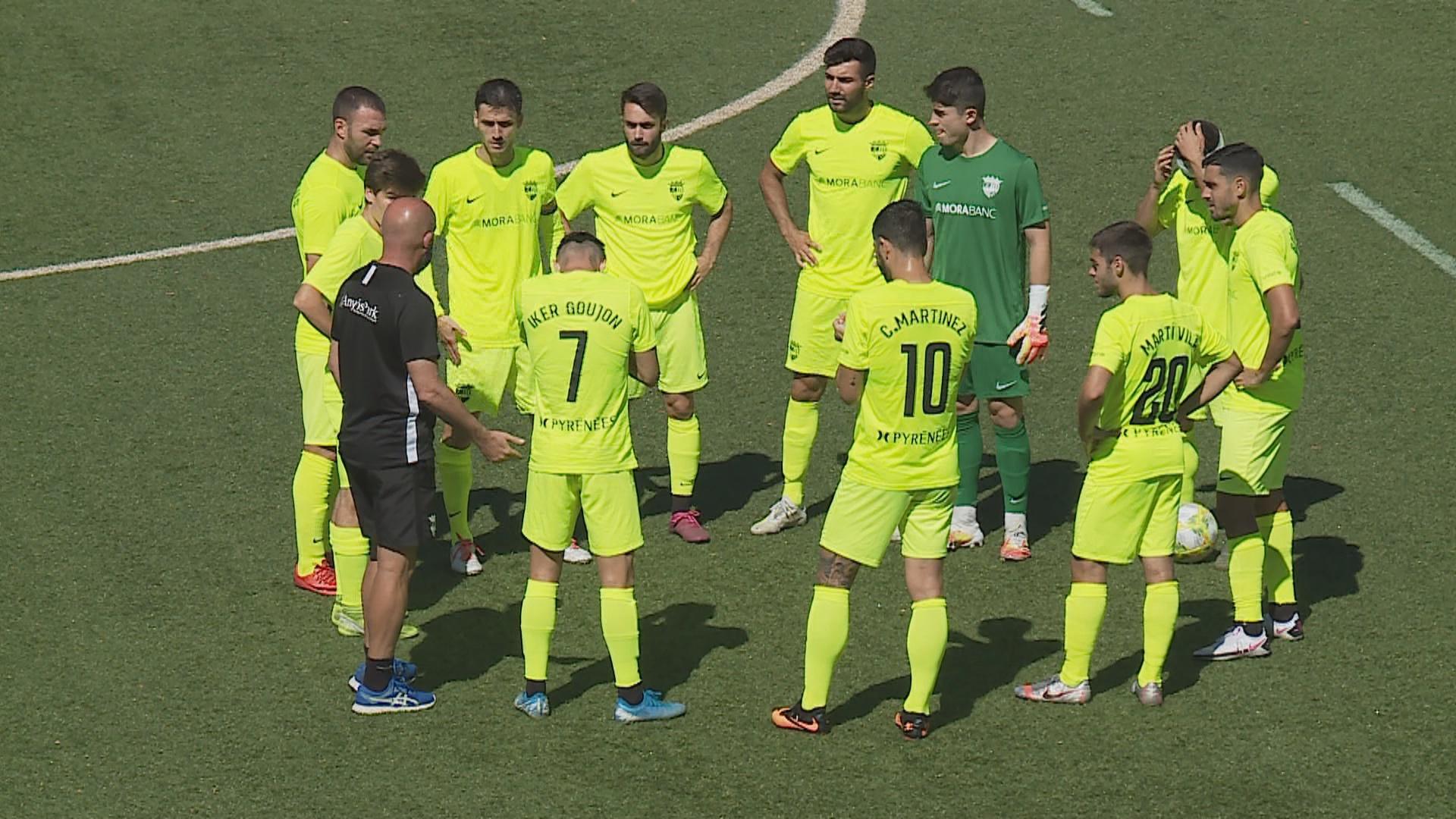 Doble victòria del FC Andorra en amistosos contra el Lleida Esportiu i el Mollerussa