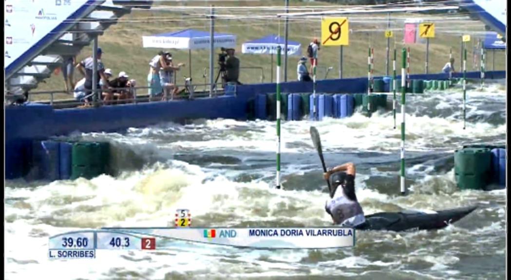 Doria i Pellicer es queden fora de la final de caiac del Mundial sub-23
