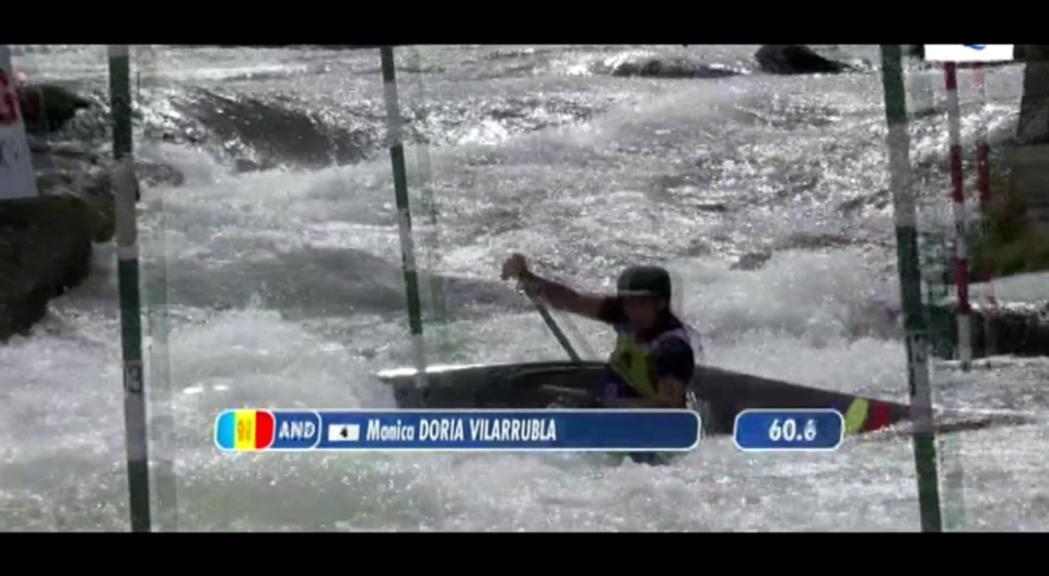 Doria també es queda a les portes de la final en canoa a l'Europeu sub-23 d'Eslovàquia