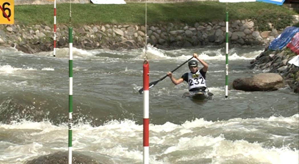 Doria és tercera en canoa al Campionat d'Espanya