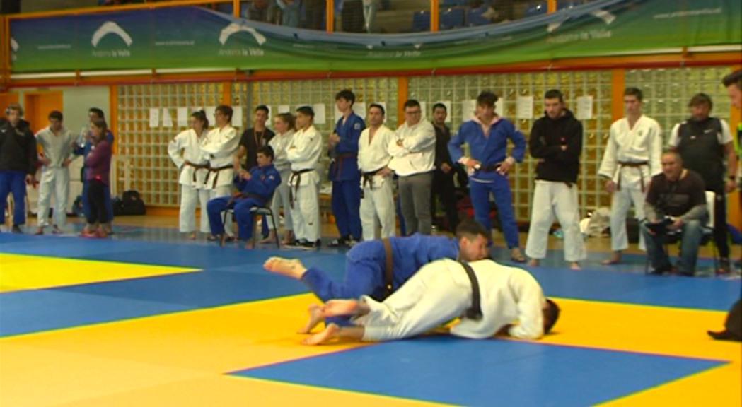 Dues medalles dels judokes andorrans a la Copa d'Espanya de Jaca