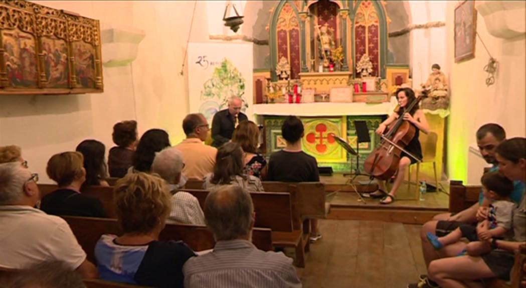El Duo Cello Sax ha debutat aquesta tarda en el marc del cicle ON
