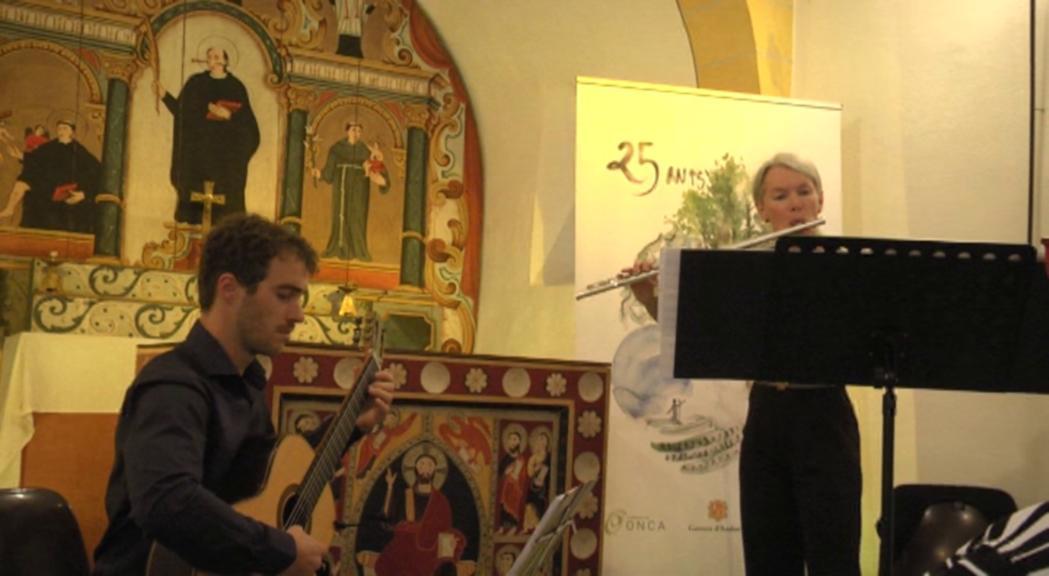 Duo Divertimento tanca les actuacions d'agost de la 7a edició de l'ONCA Bàsic