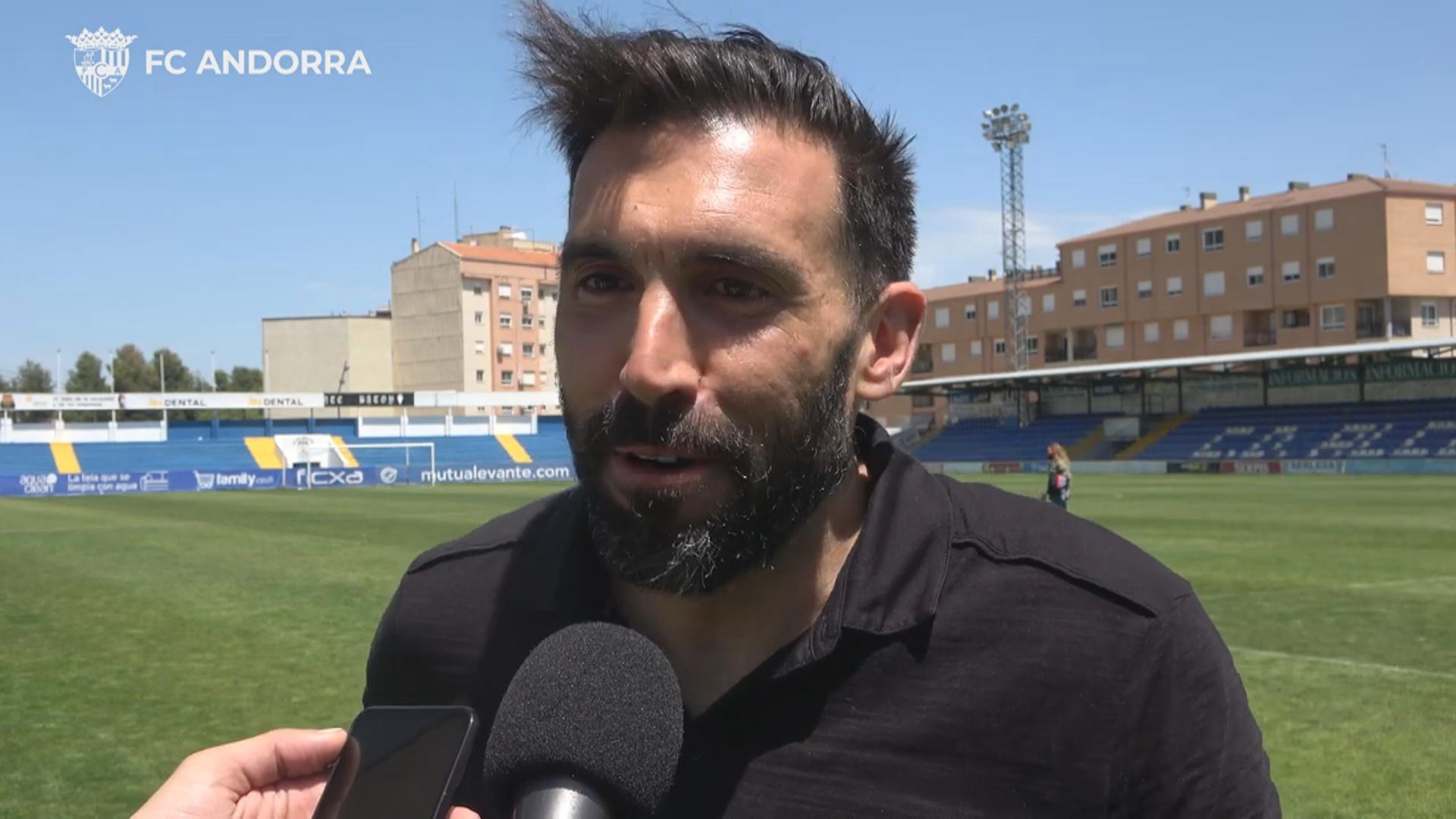 """Eder Sarabia: """"Comencem de zero i anem amb tot perquè estem a dos partits d'aconseguir quelcom molt gran"""""""
