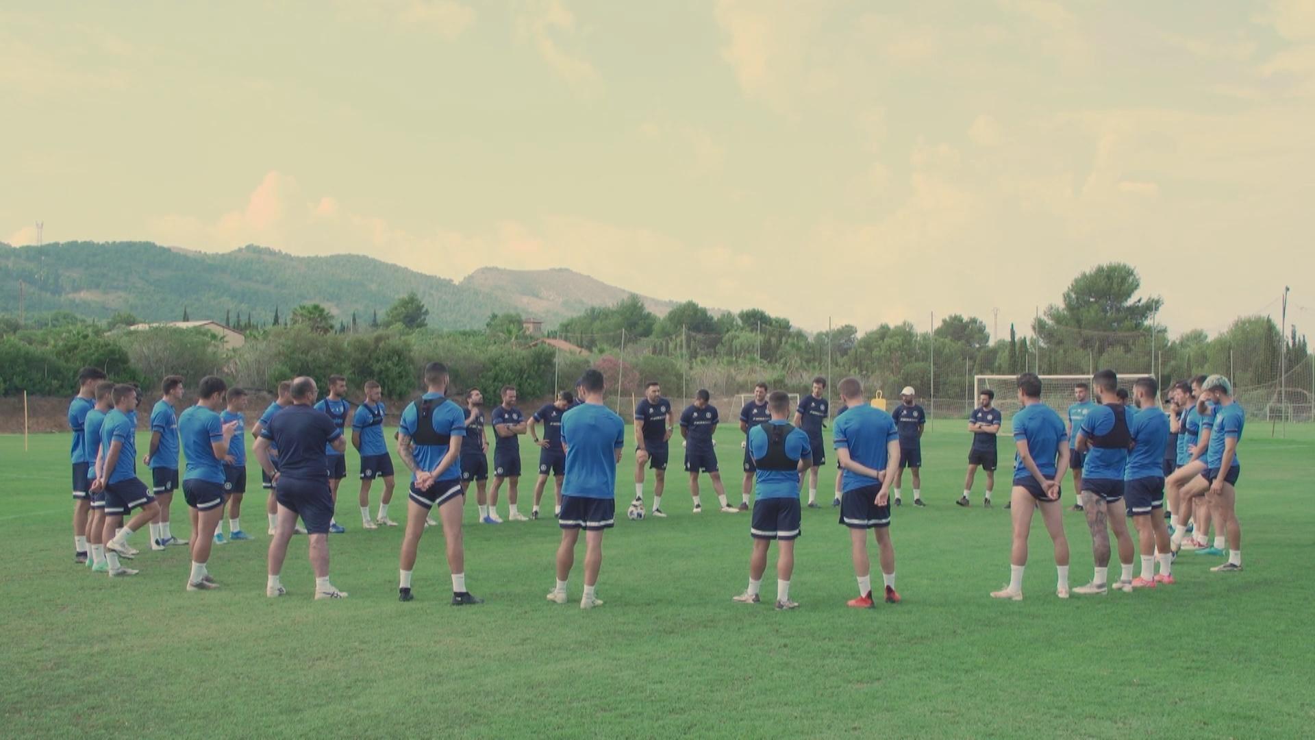Eder Sarabia espera algun reforç en atac per completar la plantilla del FC Andorra
