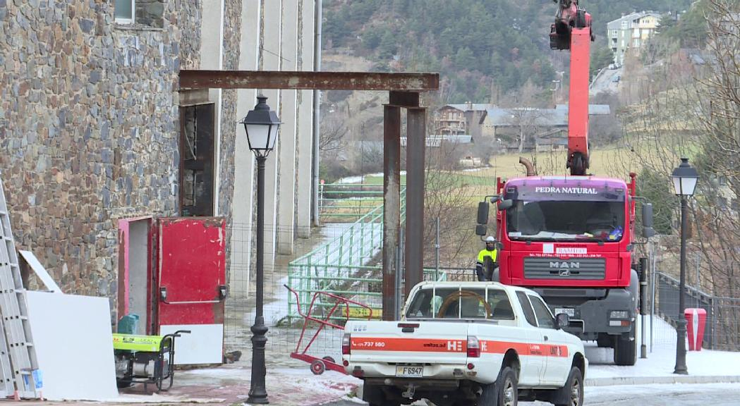 L'edifici annex del pavelló de l'Aldosa s'enderrocarà al gener