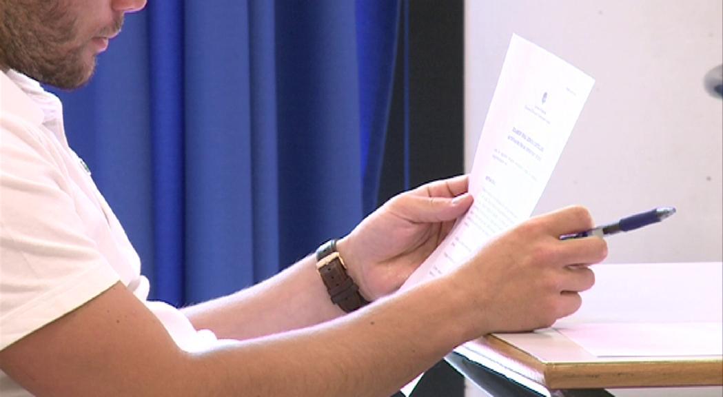 Educació fa pública la convocatòria de la prova oficial de batxillerat
