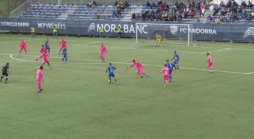 Empat a res del FC Andorra contra l'Alcoià (0-0)