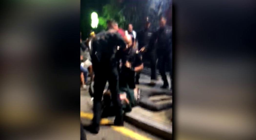 Empresonats els primers detinguts en els aldarulls a Sant Julià