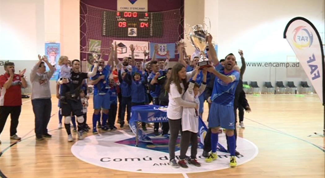 L'Encamp no falla i guanya la seva segona lliga consecutiva
