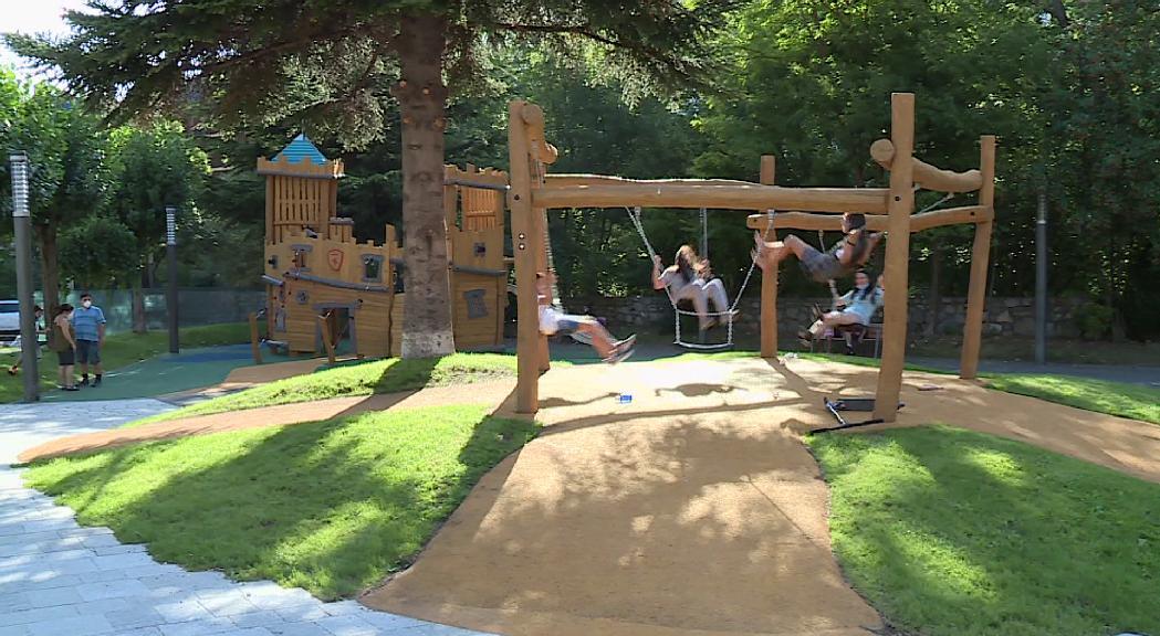 Encamp té nou parc infantil