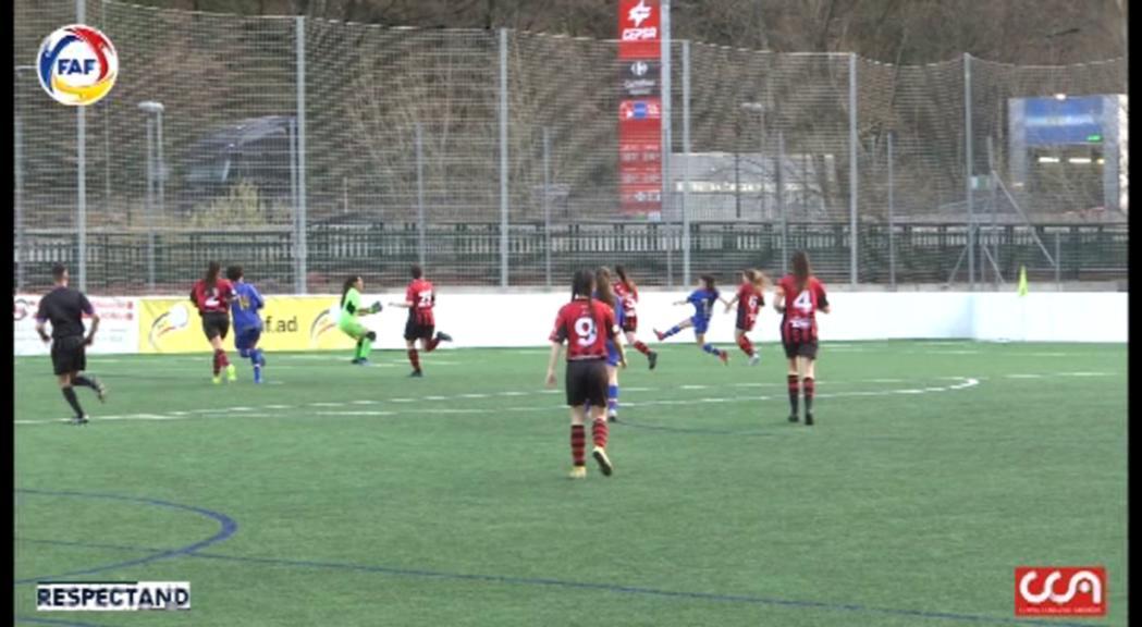 L'Enfaf femení derrota el cuer, el Pallejà, amb facilitat (3-0)