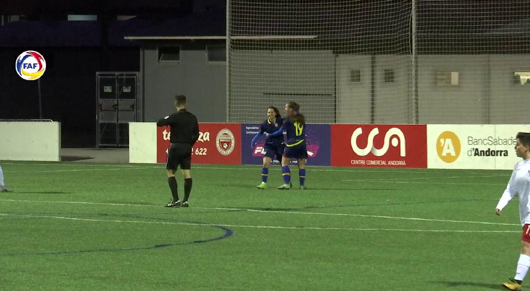 L'Enfaf goleja el Sitges (5-0) i ja pensa en el Cerdanyola