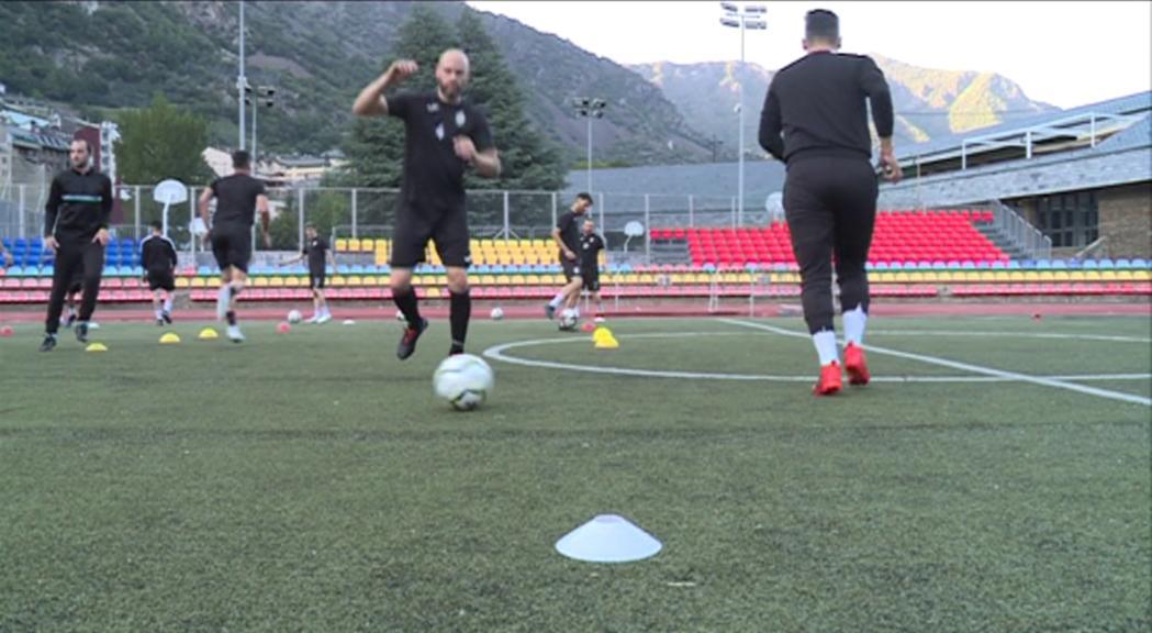 L'Engordany busca un canvi d'imatge en la tornada contra el Dinamo de Tbilisi