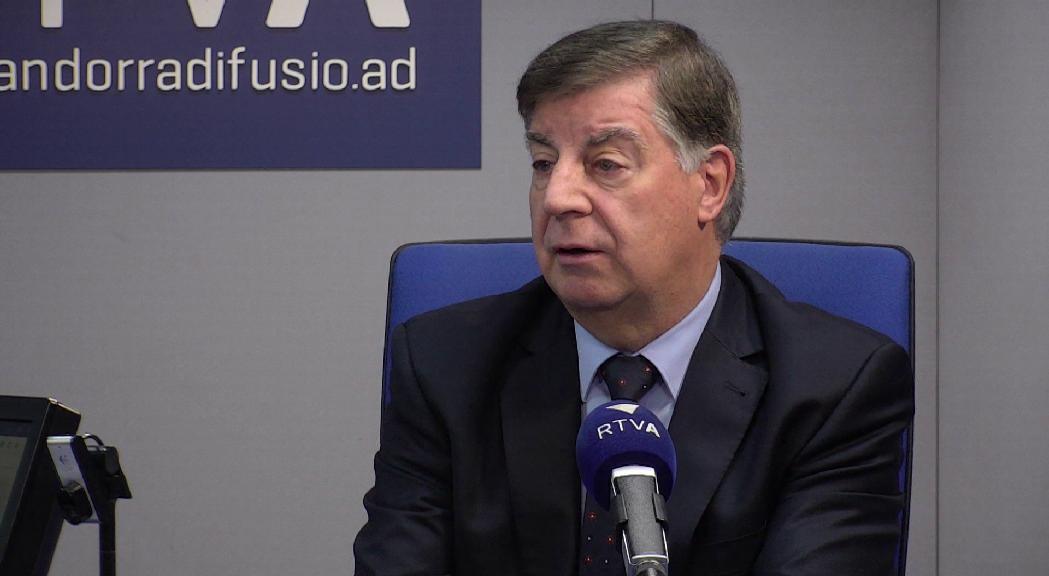 Enric Casadevall reclama més mitjans per desencallar l'embús de la Justícia