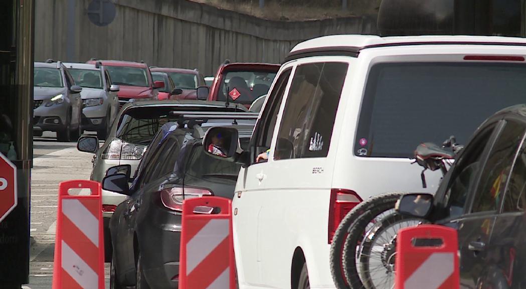 L'entrada de vehicles s'apropa a les xifres prepandèmia