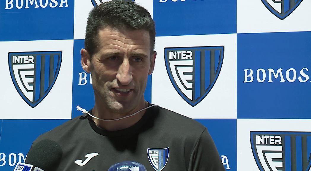 """L'entrenador de l'Inter: """"l'equip ha estat superb"""""""
