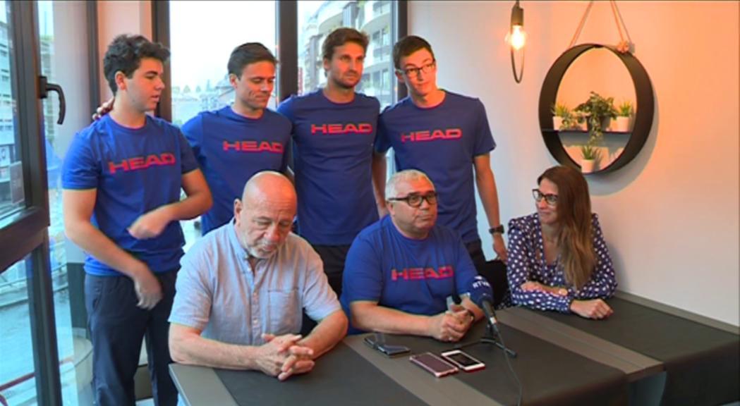 L'equip de Copa Davis obrirà la participació al grup 4 contra Malta