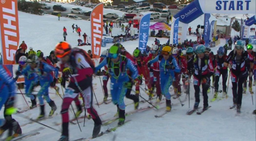 L'equip de la FAM al Campionat del Món d'esquí de muntanya busca un top-30 en sèniors