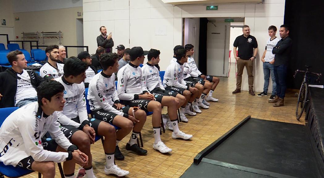 L'equip mexicà de BTT establert a Andorra la temporada passada es trasllada a San Marino