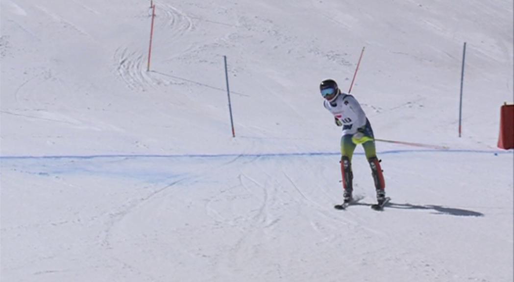 L'equip de velocitat d'esquí alpí de la federaci&oa