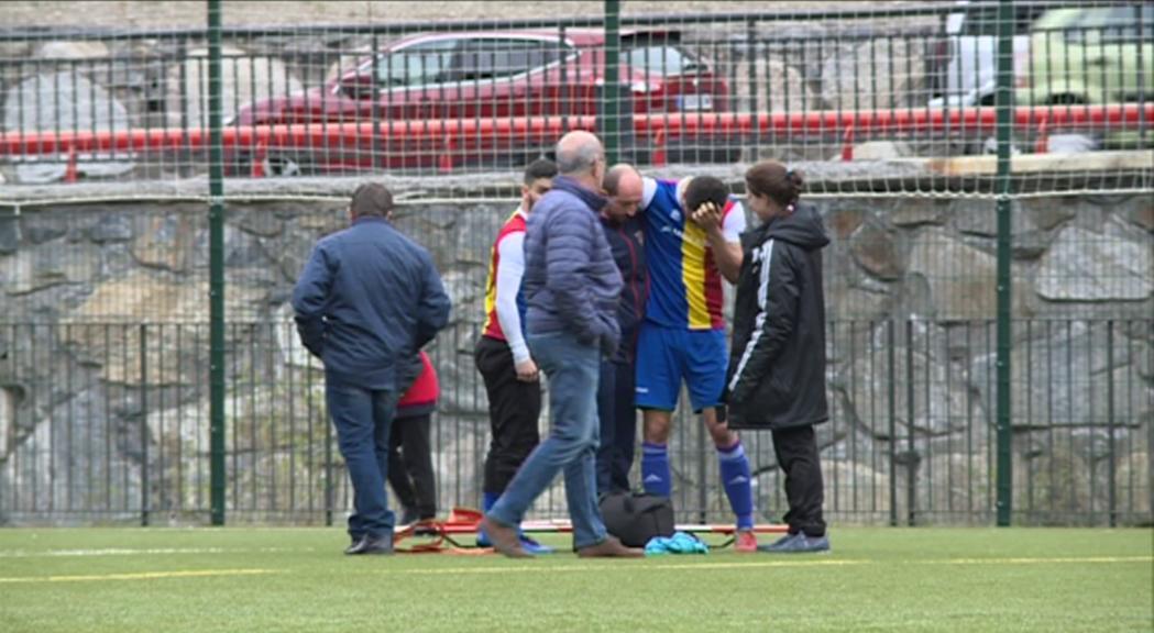 Ernest Forgas es troba estable després de patir una commoció contra el Vilanova