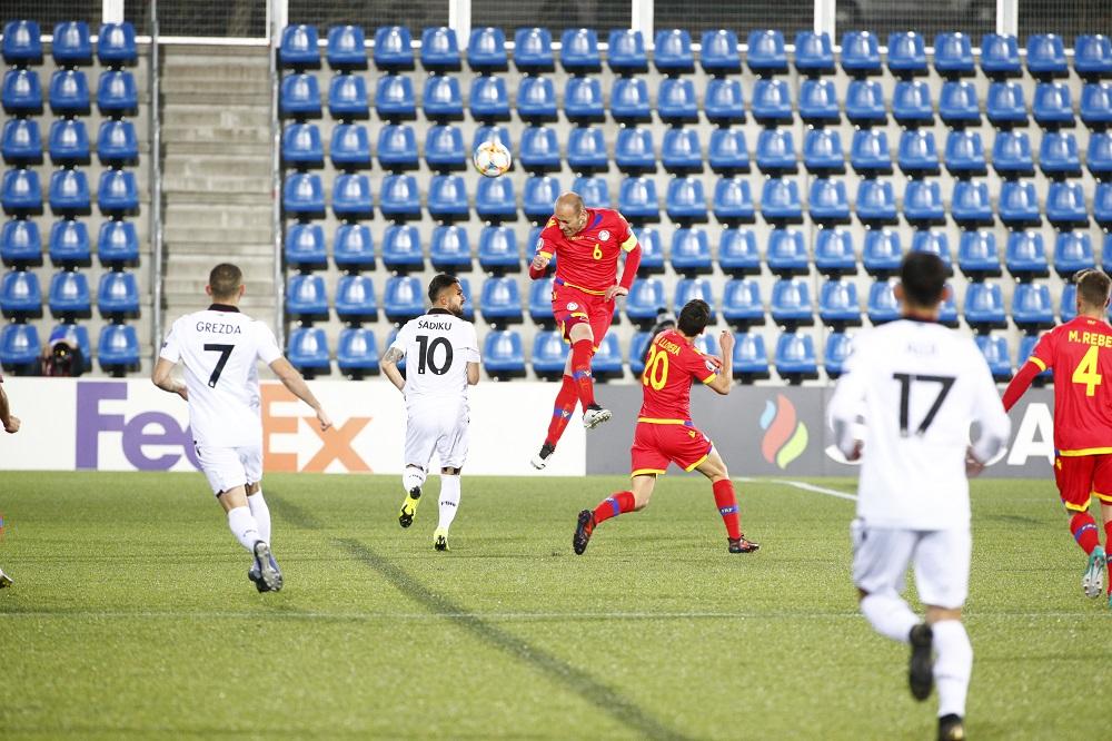 La selecció de futbol ha caigut per 0-3 davant Albà
