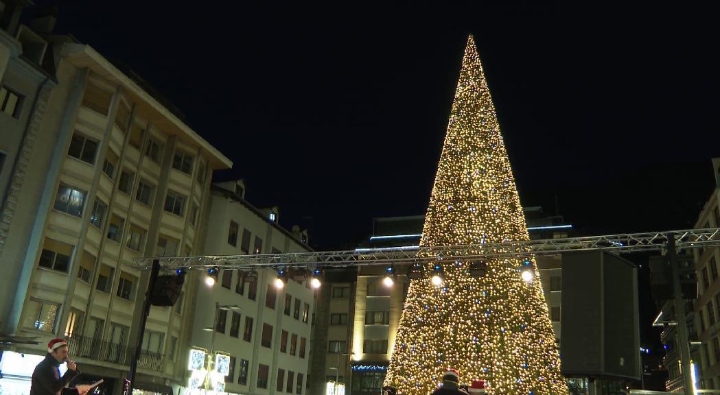 Escaldes destina 62.000 euros a l'enllumenat de Nadal