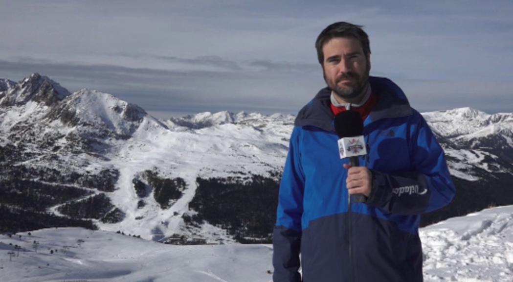 A Andorra Televisió encetem la temporada de neu amb l'Espa
