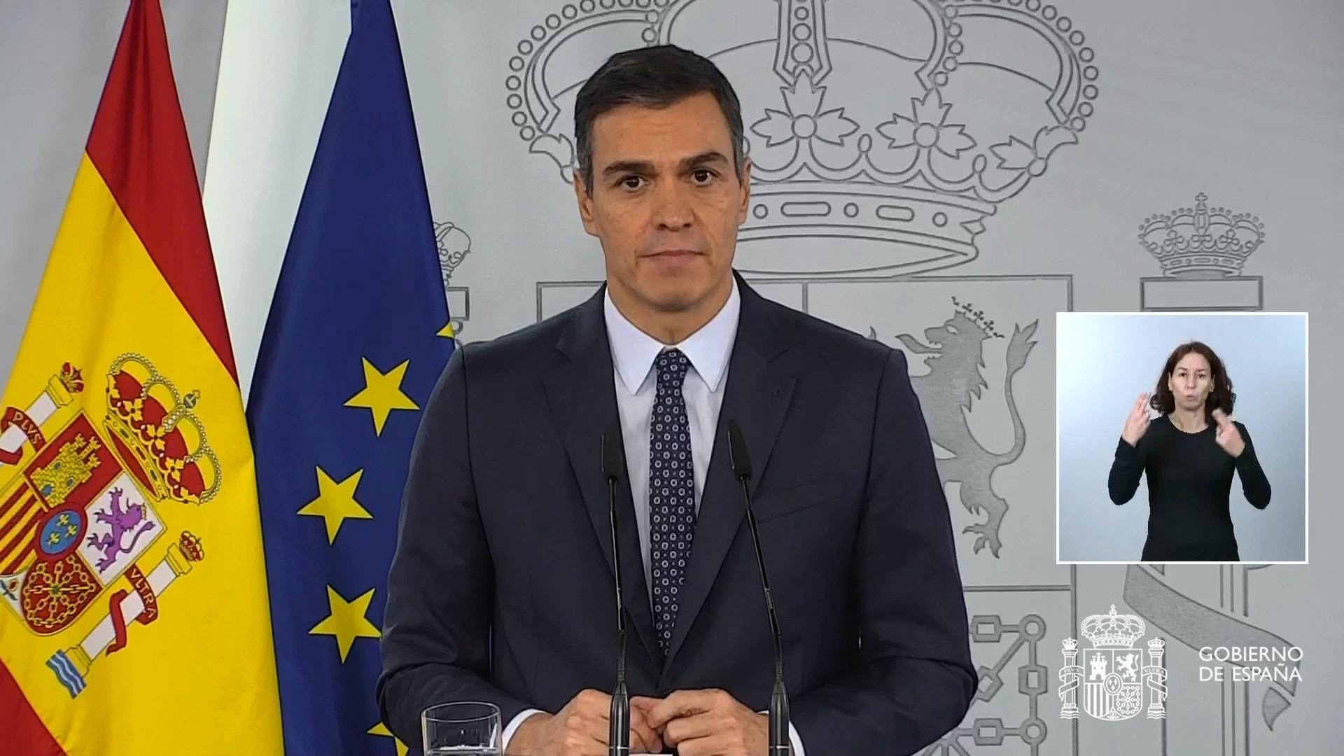 Espanya aprova l'estat d'alarma i proposa estendre'l fins al maig
