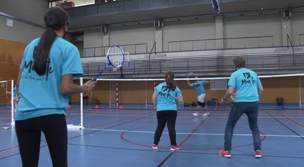 Els esportistes d'Special Olympics s'inicien en el bàdminton