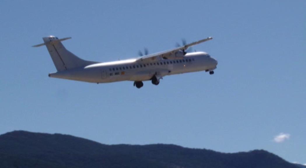 Espot i Batalla demanen al govern espanyol que agiliti el GPS de l'aeroport