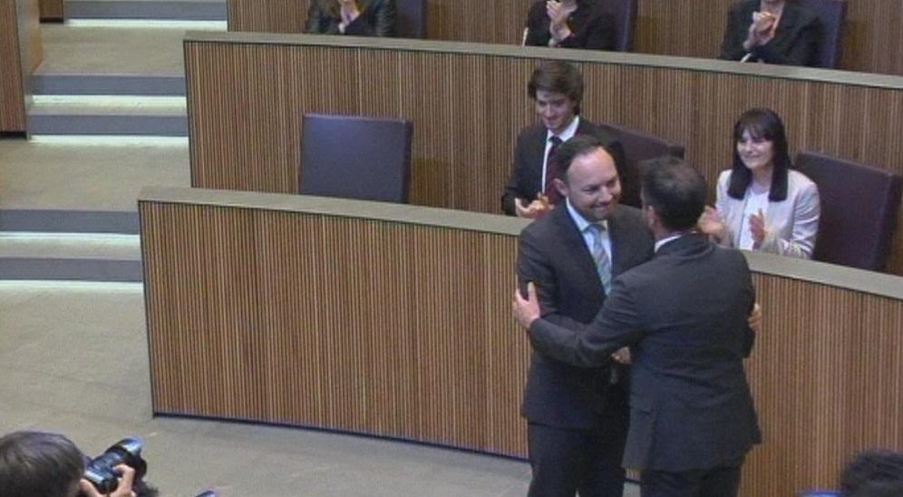 Espot és proclamat nou cap de Govern