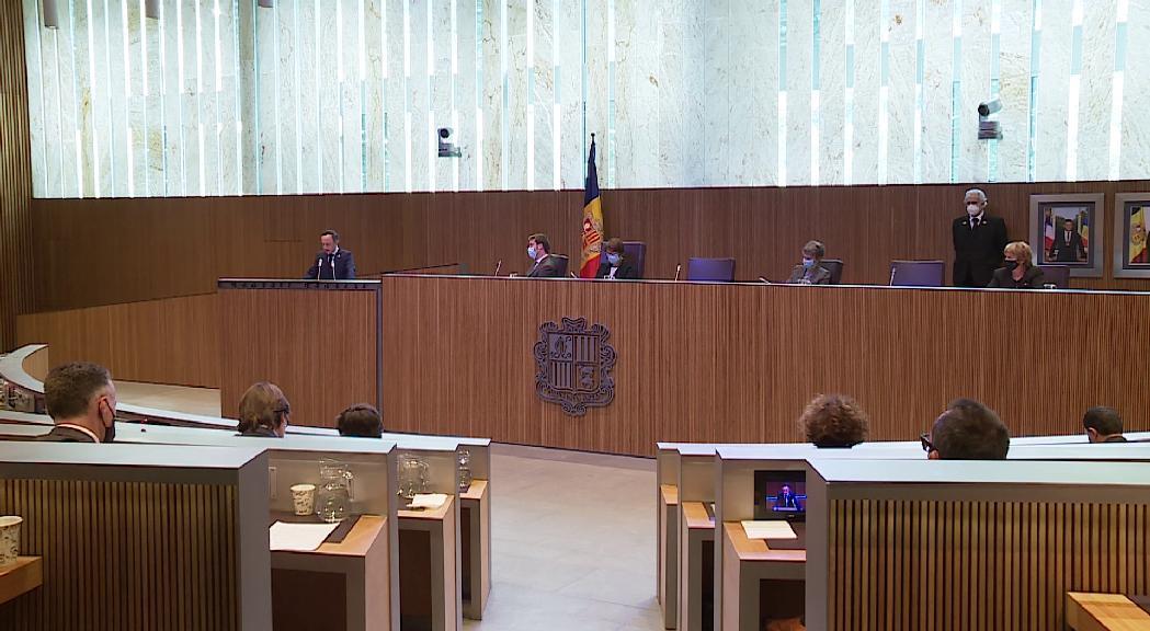 Espot reitera l'oferta de pacte d'estat per la CASS i demana als grups que presentin una llei de reforma