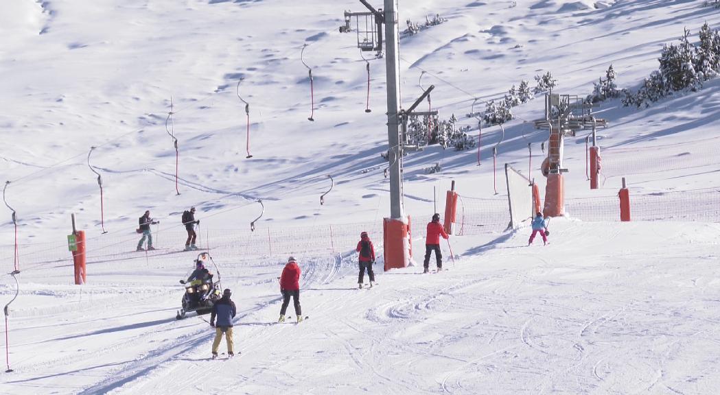 Les estacions d'esquí i Caldea tanquen per evitar la propagació del coronavirus