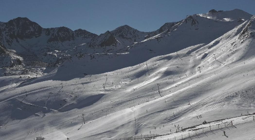 Les estacions d'esquí encaren el cap de setmana amb les millors condicions de la temporada