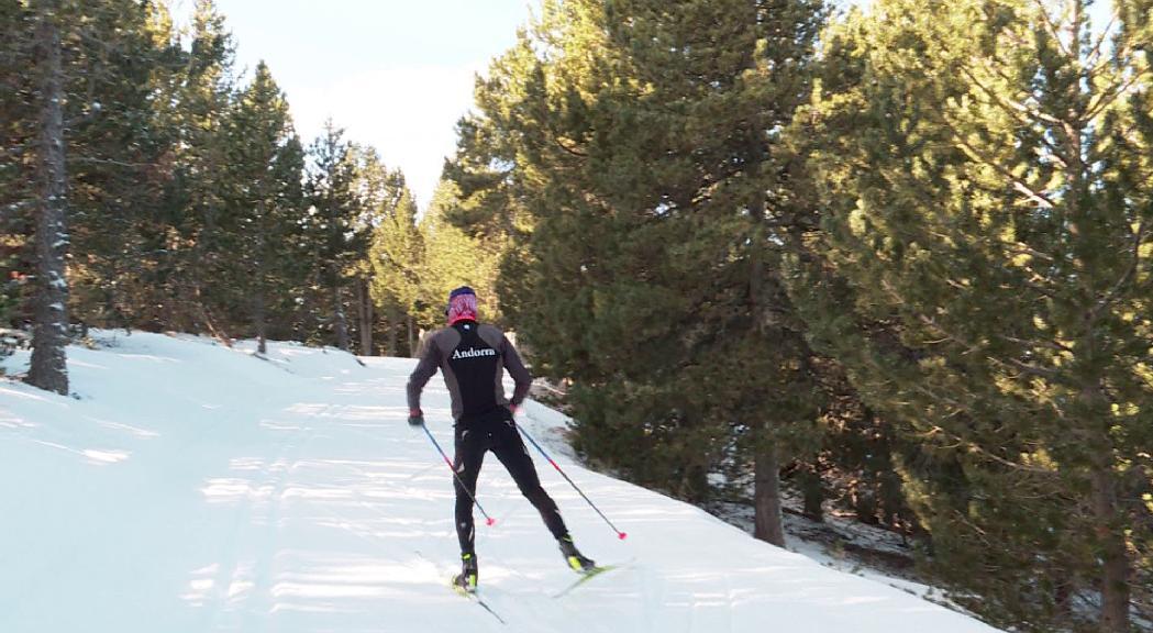 Esteve és 23è a Meraker i ocupa el 27è lloc a la general del Tour d'Ski