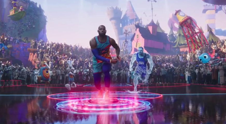 """Estrenes: LeBron James arriba a la gran pantalla amb """"Space Jam 2"""""""