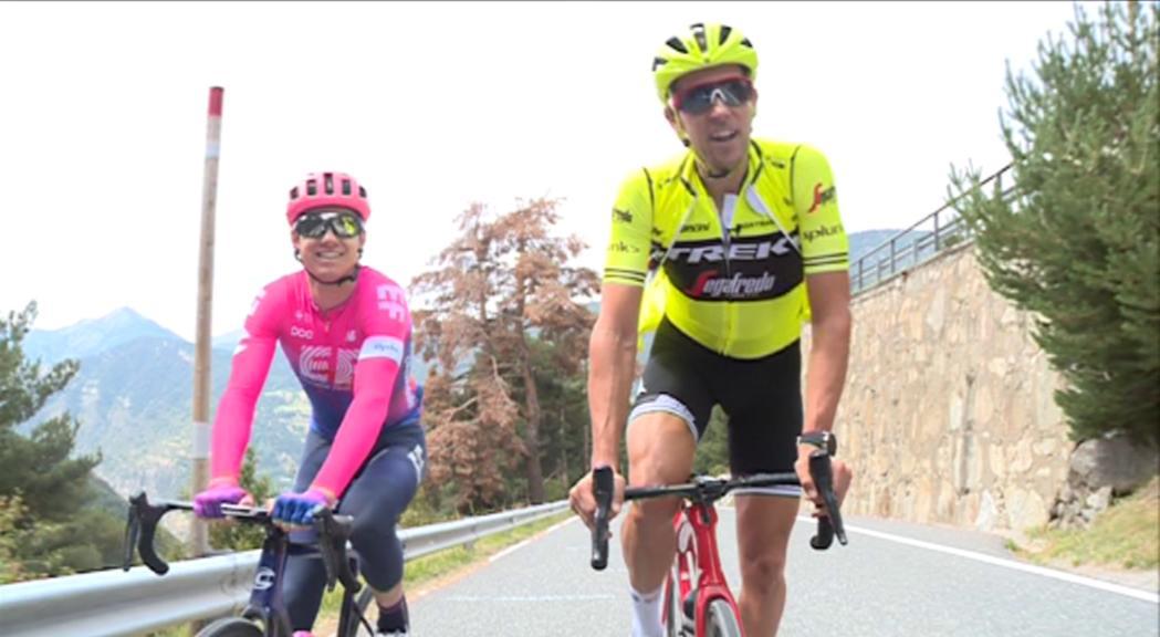 L'etapa andorrana de la Vuelta amb dos professionals: Simon Clarke i Koen de Kort