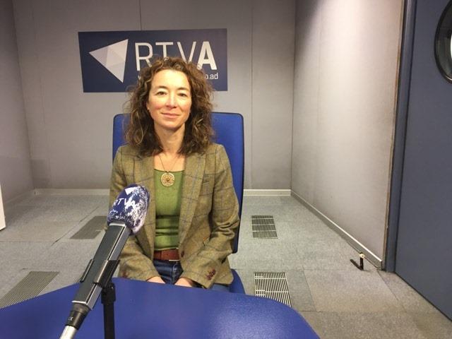 L'experta en riscos laborals Cristina Fernández Farina