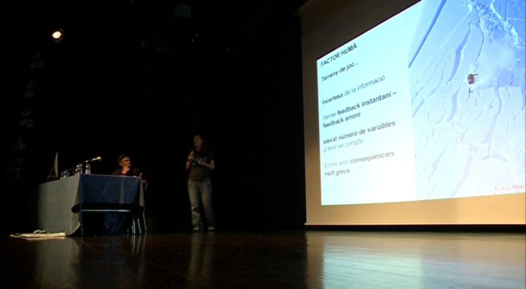 El factor humà a les allaus, a la conferència de l'EDNA