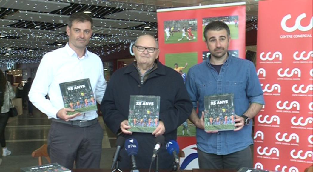 La FAF celebra 25 anys amb un llibre d'anècdotes i curiositats