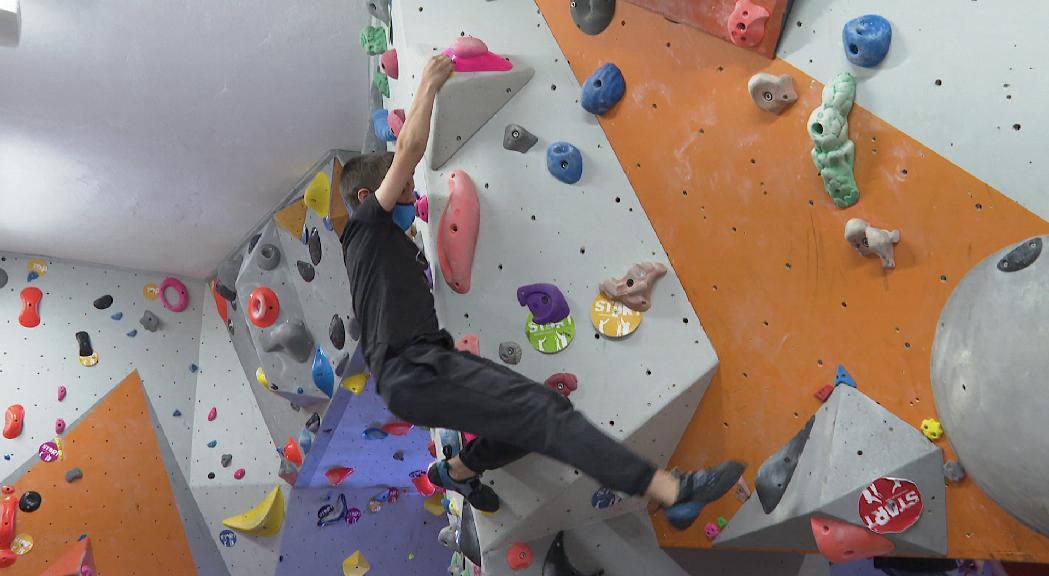 La família Taulats, passió per l'escalada