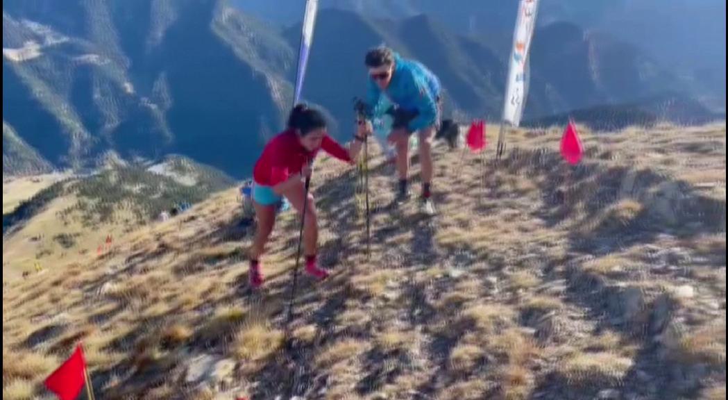 Fátima de Diego i Jordi Bolet els més ràpids a la Vertical  Kilometer Vallnord CPA