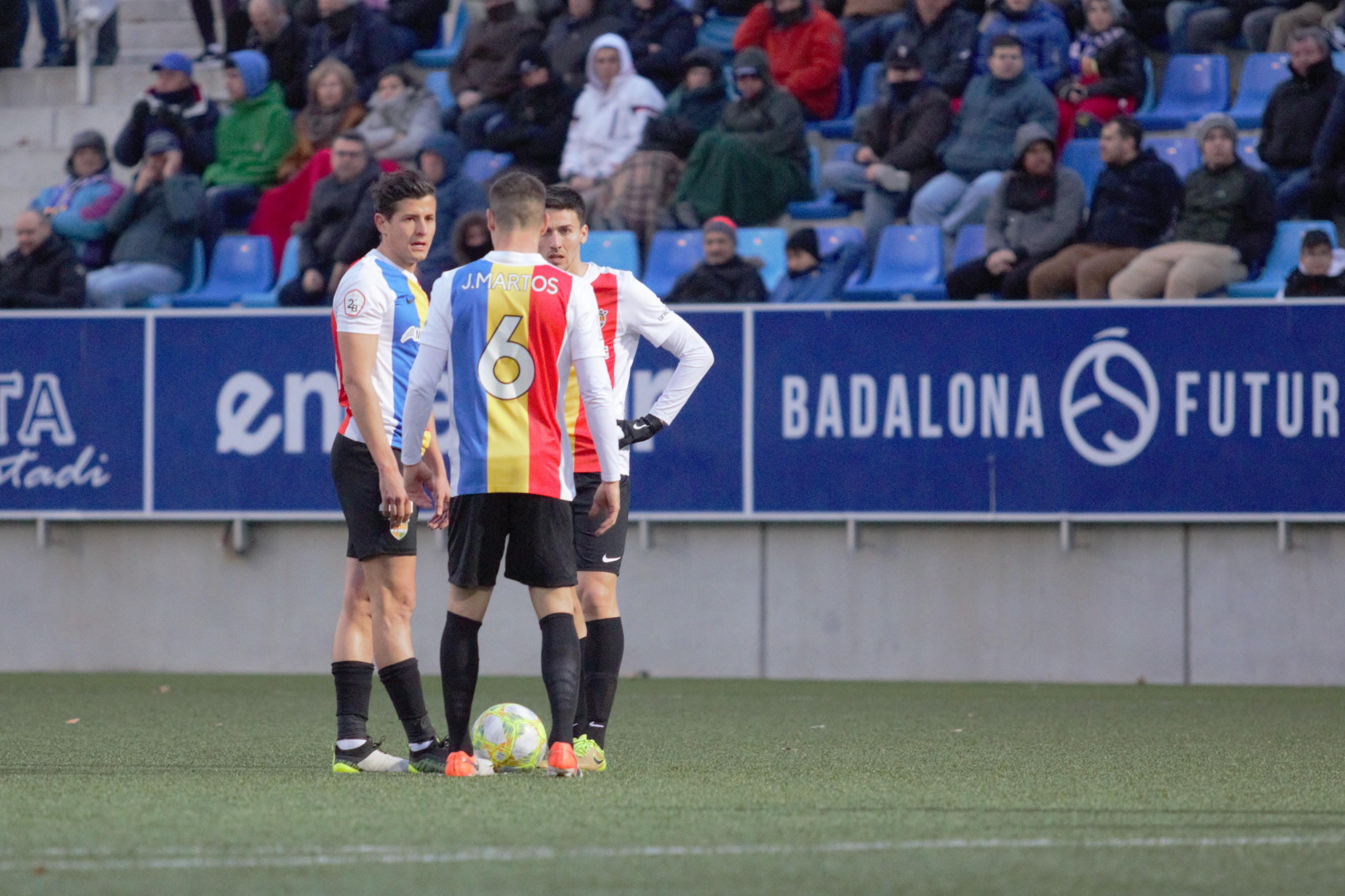 L'FC Andorra aconsegueix empatar a Badalona amb un salvador Nico Ratti