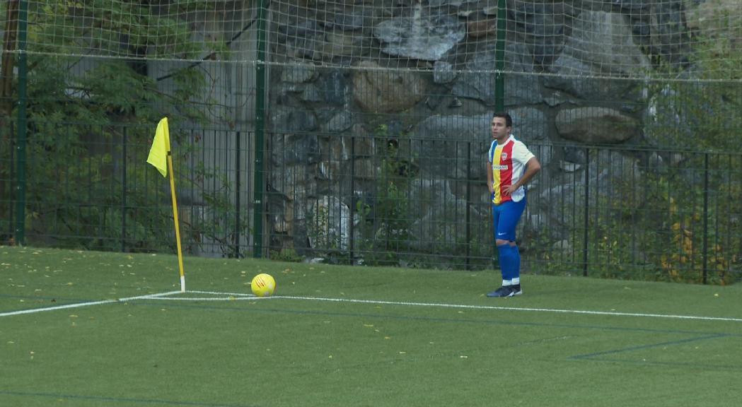 L'FC Andorra B segueix sumant victòries