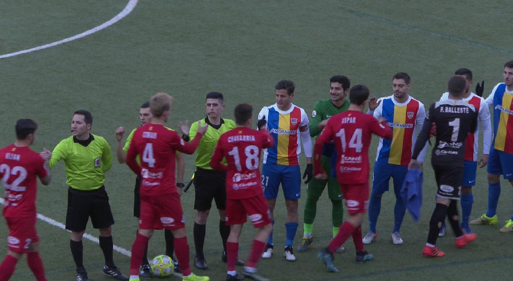 L'FC Andorra busca la segona victòria consecutiva contra un rival molt exigent