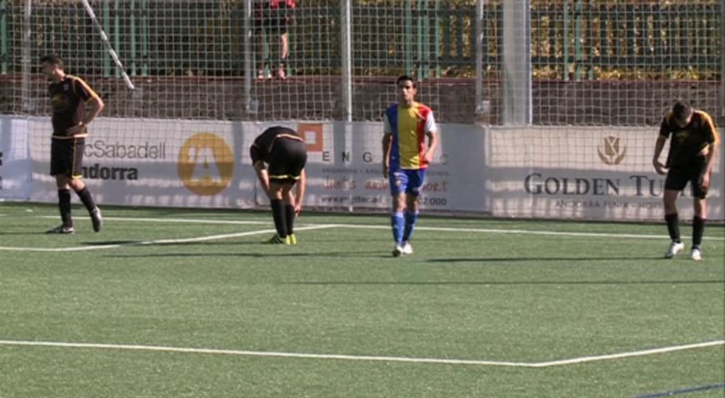 L'FC Andorra continua la reestructuració i dona la baixa a Aaron Sánchez, Eric de Pablos i Roger Nazzaro
