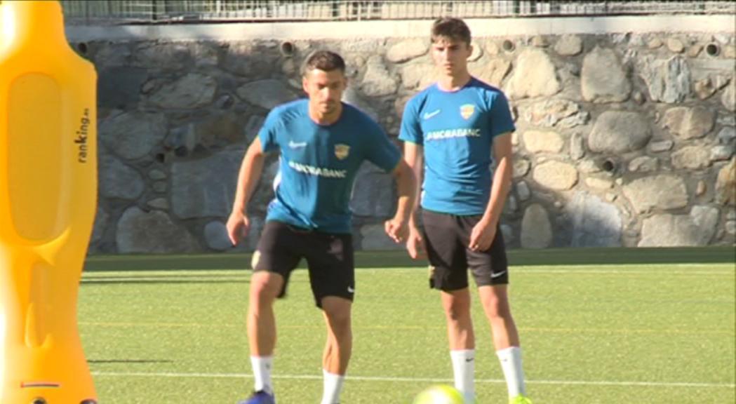 El FC Andorra davant el test més dur del que portem de pretemporada