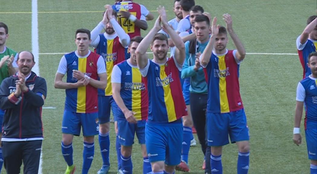 El FC Andorra demana el suport de l'afició per rebre aquest dissabte el líder Manresa